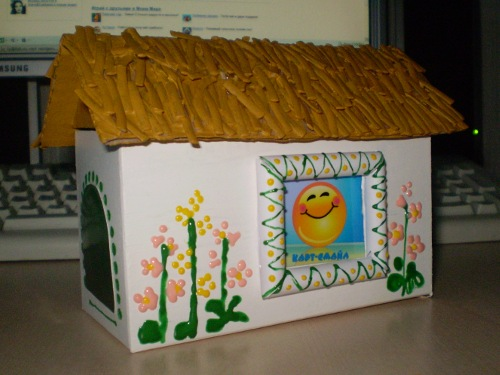домик для подарка
