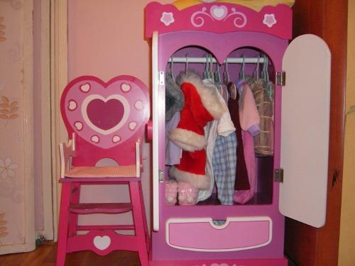 Шкаф для куклы беби бон