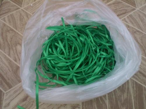 зеленые ленты