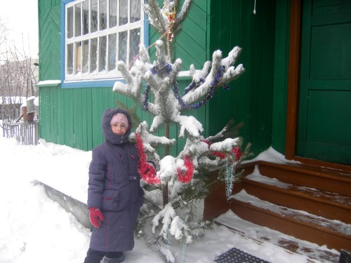 зимние каникулы в деревне