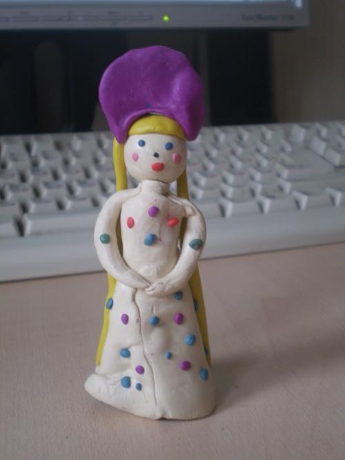 дымковская игрушка имитация