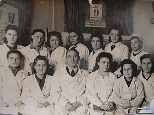 студенты медики 1947 год