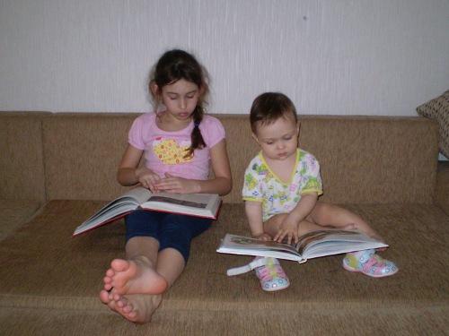 приучить ребенка читать