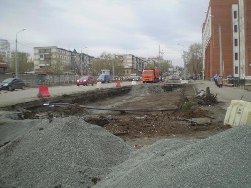 реконструкция улицы Калинина Челябинск