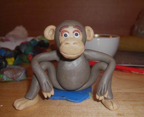 Поделки обезьянки своими руками фото поэтапно