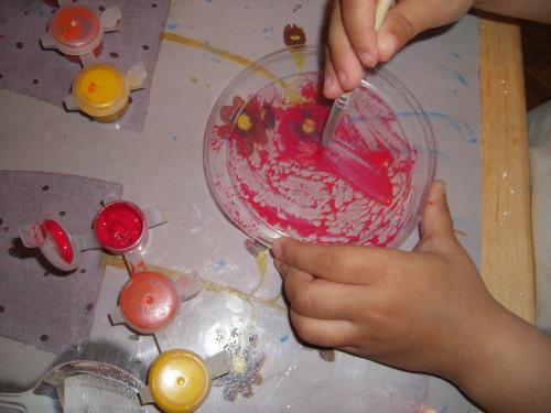 рисуем акриловыми красками