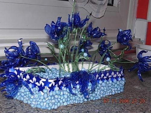 Цветы из пластиковых бутылок: пошаговый мастер-класс 48