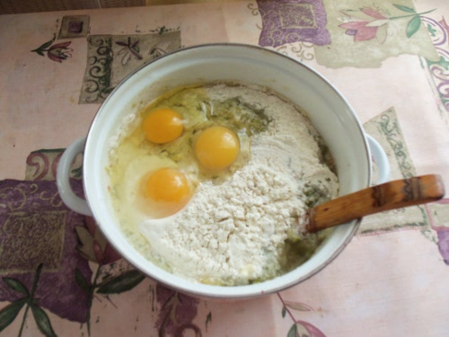 тесто для оладьев из кабачков