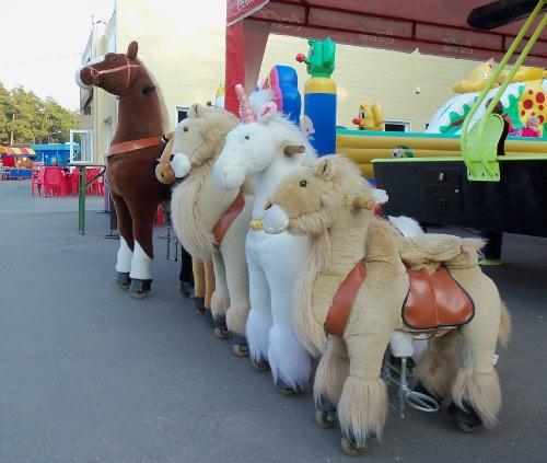 механические лошадки понициклы